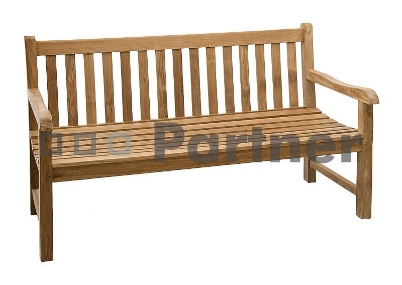 Záhradná lavička - Deokork - Roma 120 (Teak)