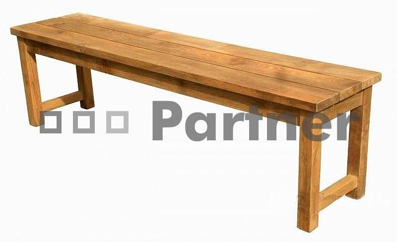 Záhradná lavička - Deokork - Wellington (Teak)