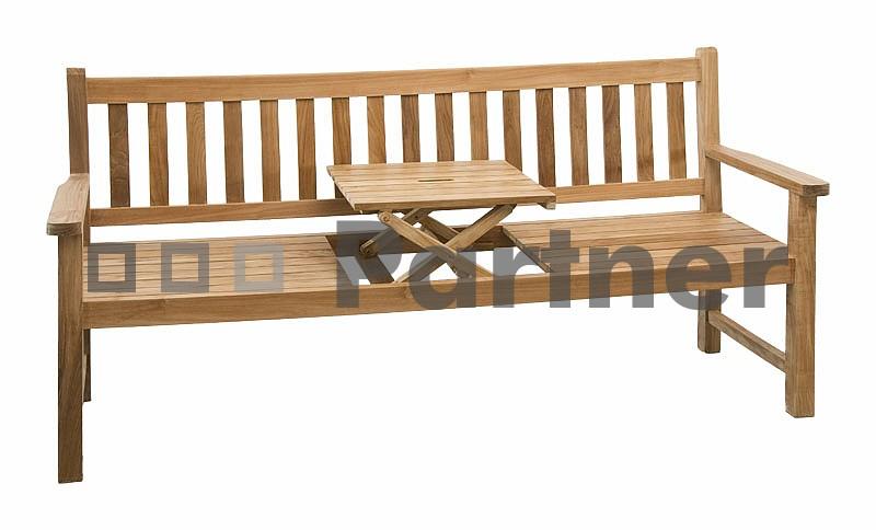 Záhradná lavička - Deokork - Wine (Teak)