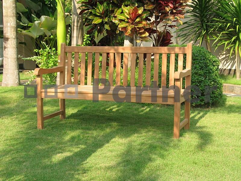 Záhradná lavička - Deokork - Florencie 120 cm (Teak)