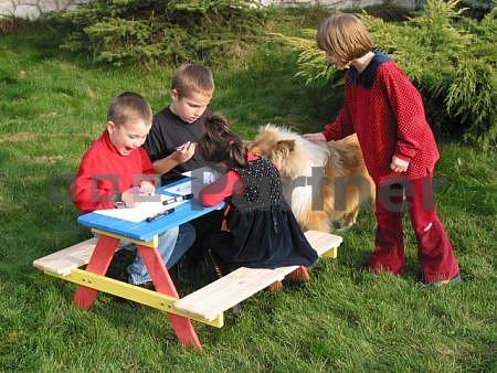 Záhradný detský nábytok - Deokork - Kids (Masív). Akcia -55%. Sme autorizovaný predajca Deokork. Vlastná spoľahlivá doprava až k Vám domov.