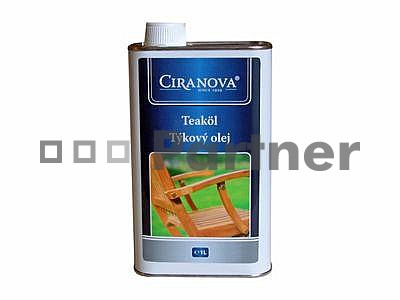 Ochranný prostriedok na záhradný nábytok - Deokork - Ciranova - Teakový olej - 1.0 L