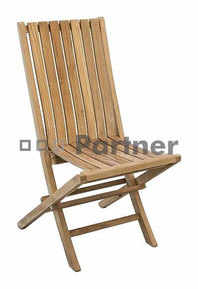Záhradná stolička - Deokork - Glory (Teak)
