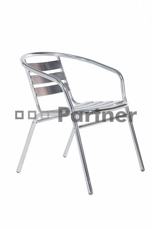 Záhradná stolička - Deokork - Piknik (Kov)
