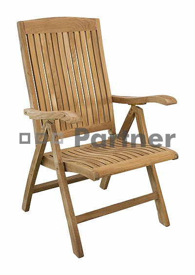 Záhradná stolička - Deokork - Europe (Teak)