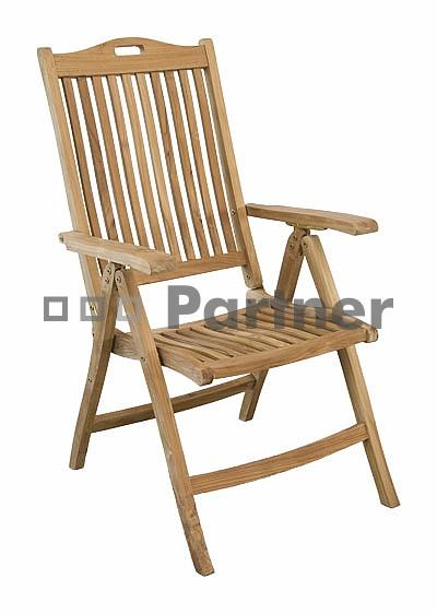 Záhradná stolička - Deokork - Miami (Teak)