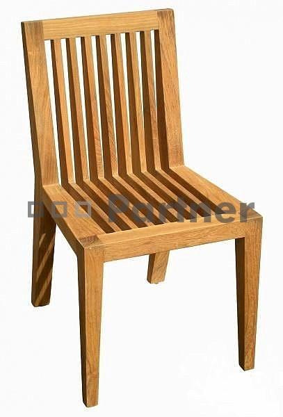 Záhradná stolička - Deokork - Wells (Teak)