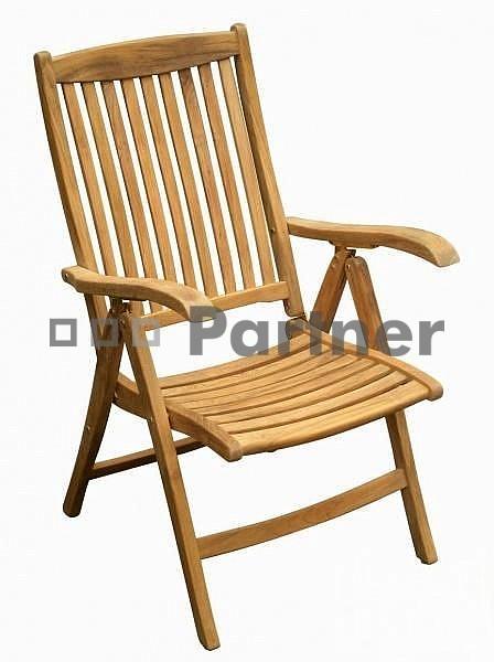 Záhradná stolička - Deokork - Winchester (Teak)