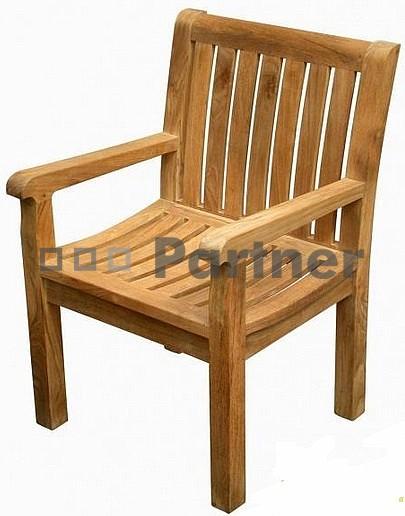 Záhradná stolička - Deokork - Winnipeg (Teak)