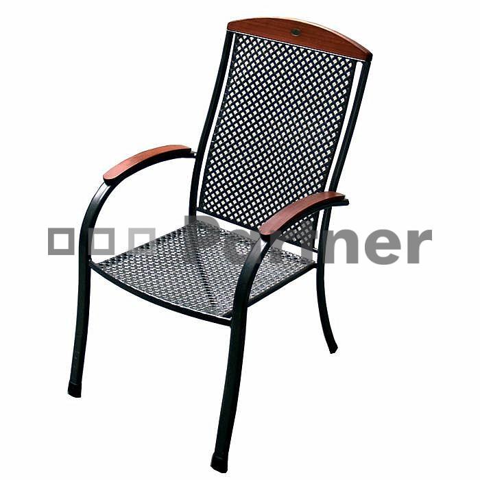 Záhradná stolička - Deokork - Monaco (kov)