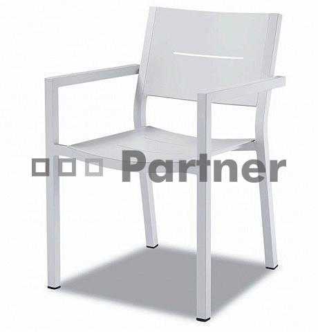 Záhradná stolička - Deokork - C12814-AL (Kov)