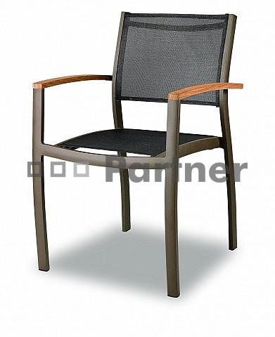 Záhradná stolička - Deokork - C88012 (Kov)