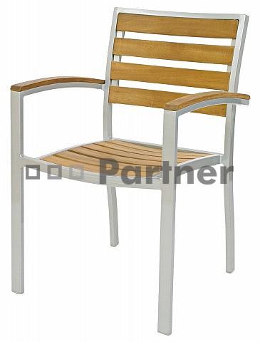 Záhradná stolička - Deokork - CAM 06602 (kov)