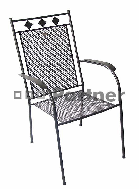 Záhradná stolička - Deokork - Boston (Kov)