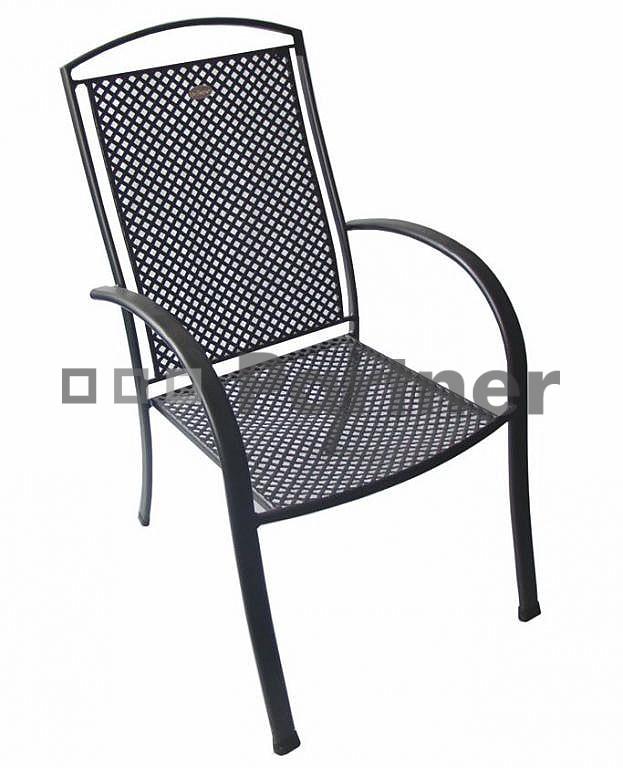 Záhradná stolička - Deokork - Merano (Kov)