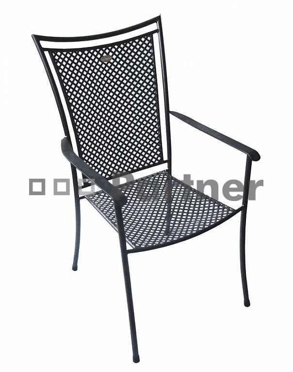 Záhradná stolička - Deokork - Nice (Kov)