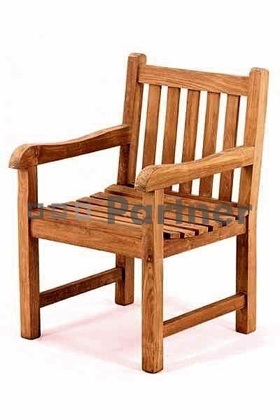 Záhradná stolička - Deokork - Roma (Teak)