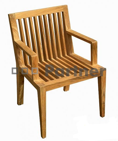 Záhradné stolička - Deokork - Wells (Teak)