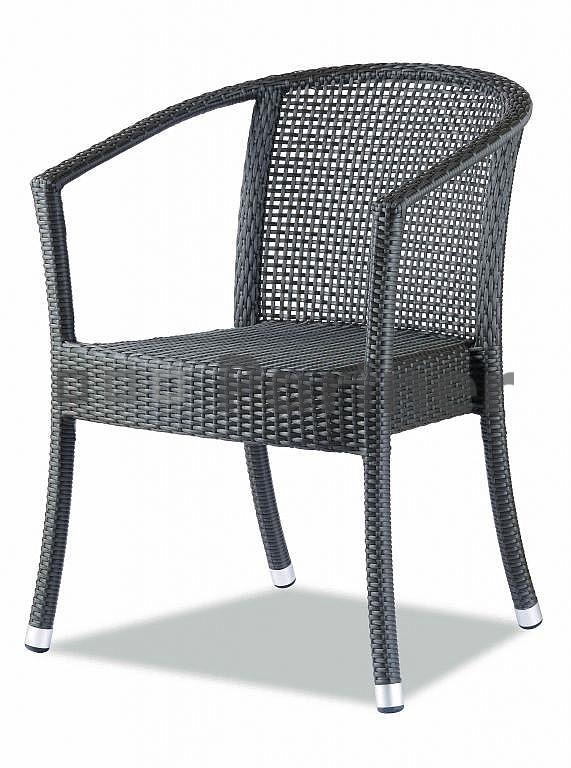 Záhradná stolička - Deokork - C88314 (umelý ratan)