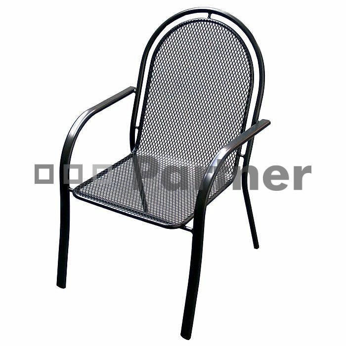 Záhradná stolička - Deokork - Corina (kov)