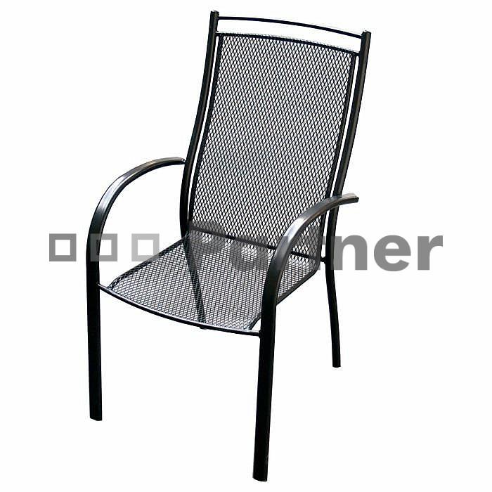 Záhradná stolička - Deokork - Elton (kov)