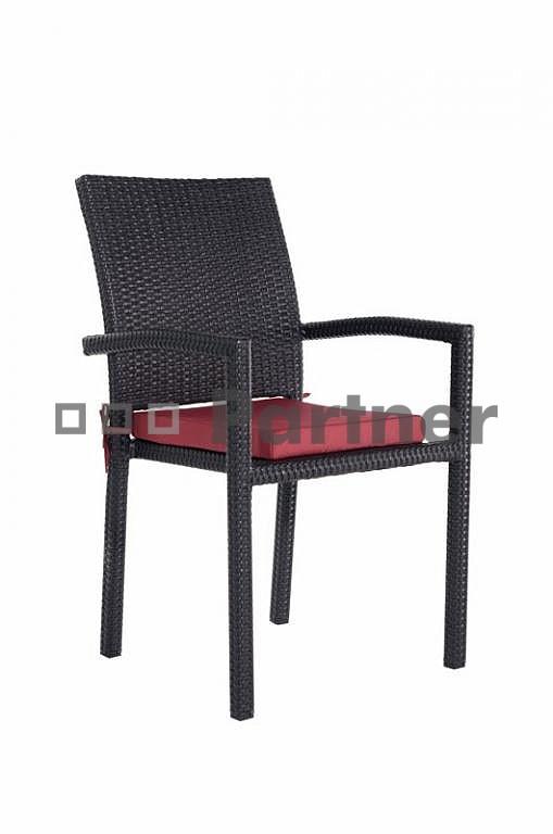 Záhradná stolička - Deokork - Gdaňsk (umelý ratan)