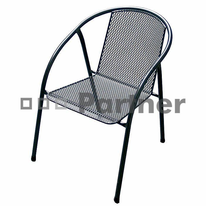 Záhradná stolička - Deokork - Iris (kov)