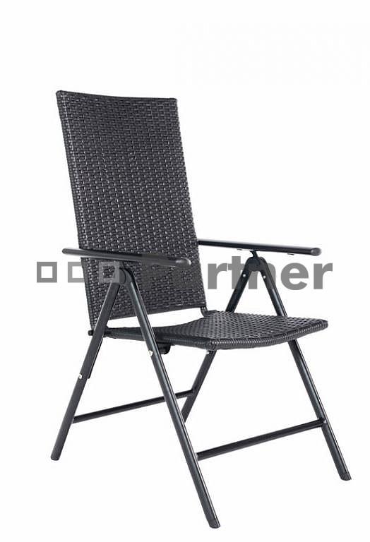 Záhradná stolička - Deokork - Kodaň (umelý ratan)