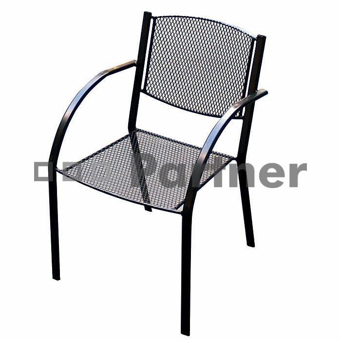 Záhradná stolička - Deokork - Milano (kov)