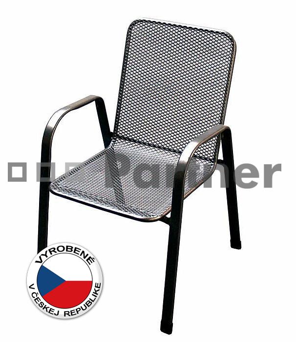 Záhradná stolička - Deokork - Sága nízka (kov)