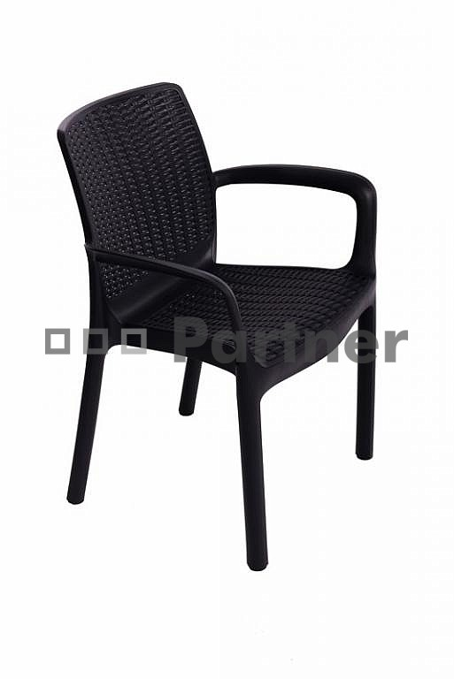 Záhradná stolička - Deokork - Santa Fe (umelý ratan)