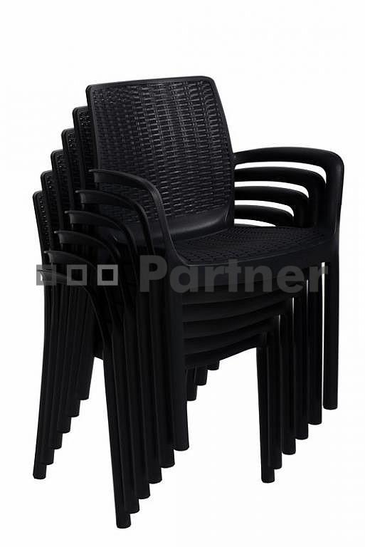 839cb60aca01 Záhradná stolička Santa Fe (umelý ratan)