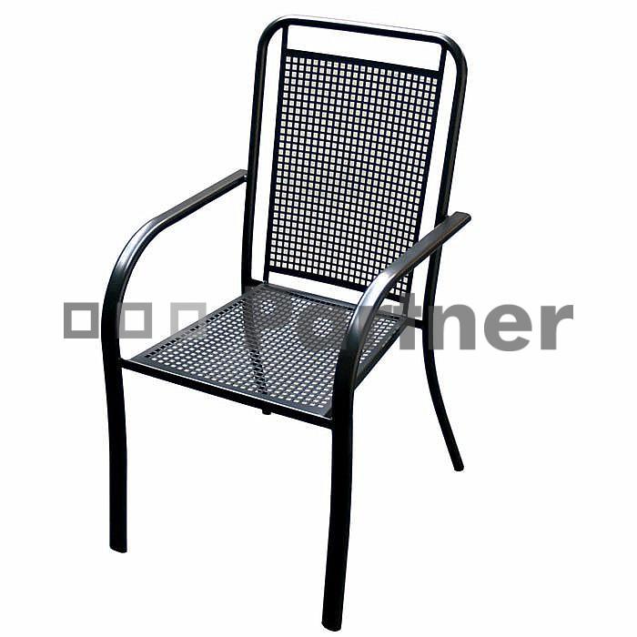 Záhradná stolička - Deokork - Savana (kov)