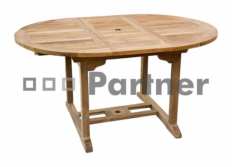 Záhradný stôl - Deokork - Mercy 150 (Teak)