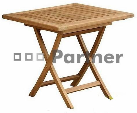 Záhradný stôl - Deokork - Smart 80 (Teak)