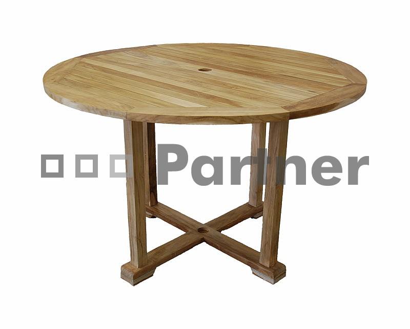 Záhradný stôl - Deokork - Star 100 (Teak)