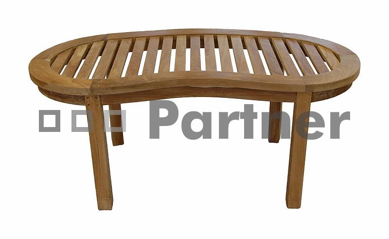 Záhradný stôl - Deokork - Omega (Teak)