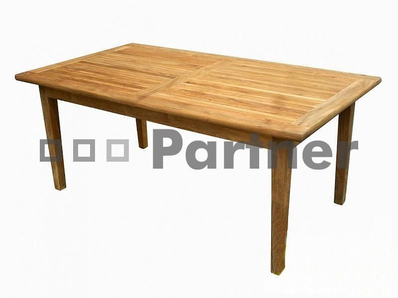 Záhradný stôl - Deokork - Winnipeg 80 (Teak)