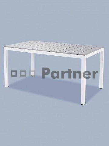 Záhradný stôl - Deokork - T119361-AL-BI (Kov)