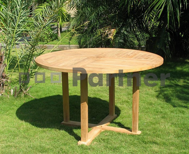 Záhradný stôl - Deokork - Argon (Teak)