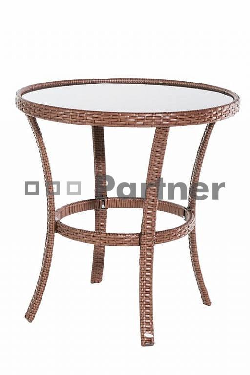 dfffba19754e Záhradný stôl Bern (umelý ratan)