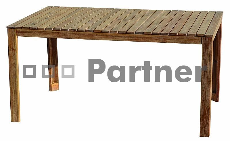 Záhradný stôl - Deokork - Chesterfield II. (Akácia)