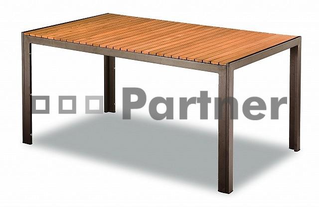 Záhradný stôl - Deokork - TAM 03702-90x150 (hliník)