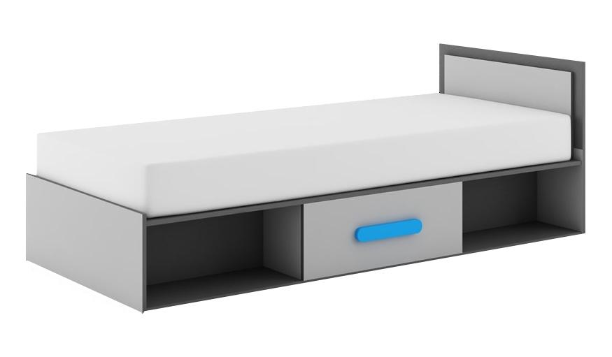 Jednolôžková posteľ 90 cm - Dig-net - Play - PL-16 (s matracom)