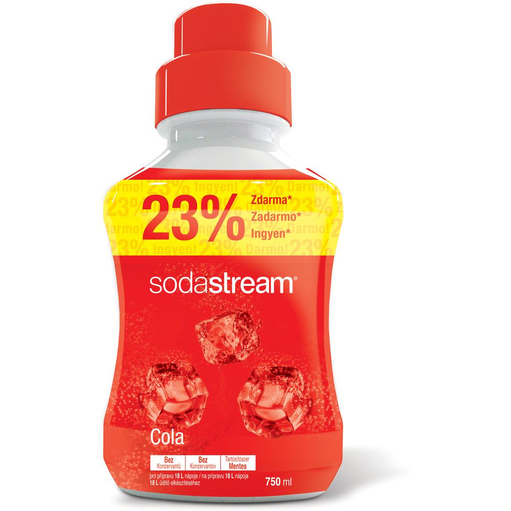 Sirup - Fastplus - Sodastream - COLA 750ml (červená). Vlastná spoľahlivá doprava až k Vám domov.