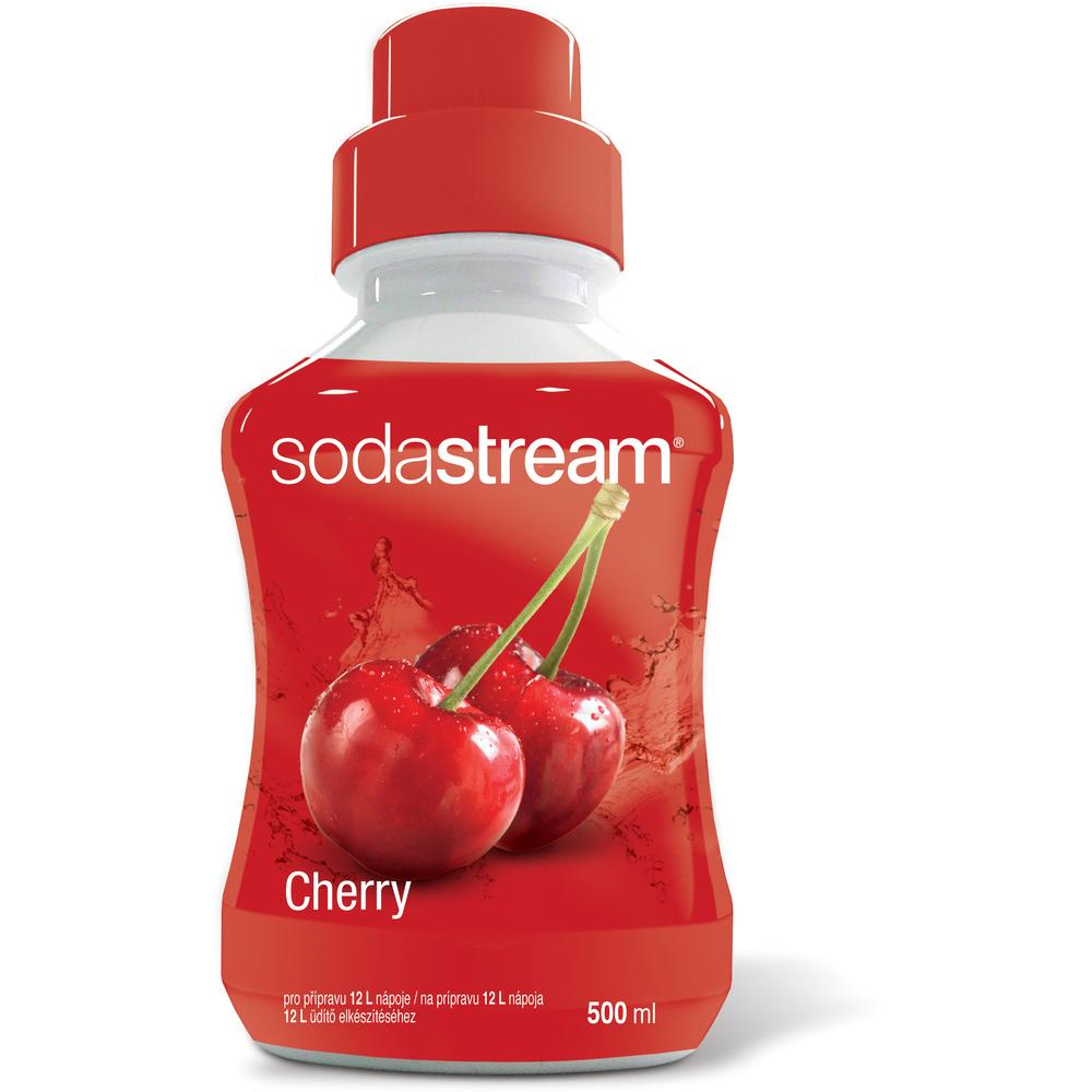 Sirup - Fastplus - Sodastream - ČEREŠŇA 500ml (biela/červená). Vlastná spoľahlivá doprava až k Vám domov.