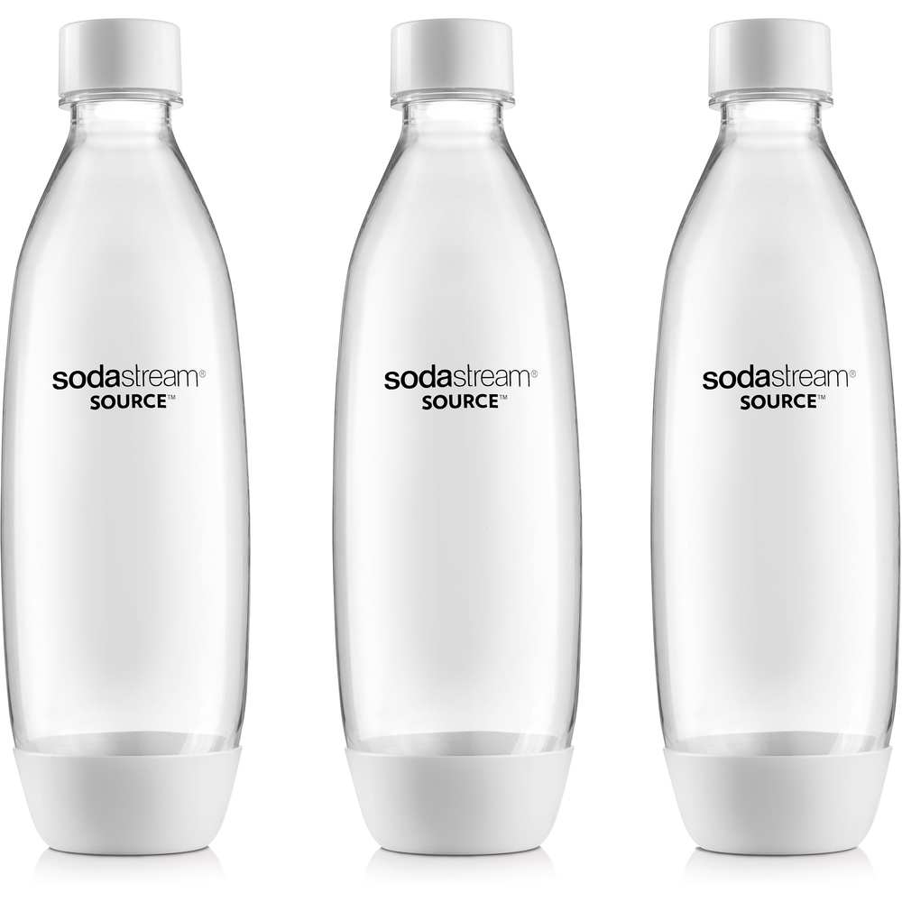 Náhradná fľaša - Fastplus - Sodastream - SOURCE/PLAY TRIPACK 1l (biela) (3ks). Vlastná spoľahlivá doprava až k Vám domov.