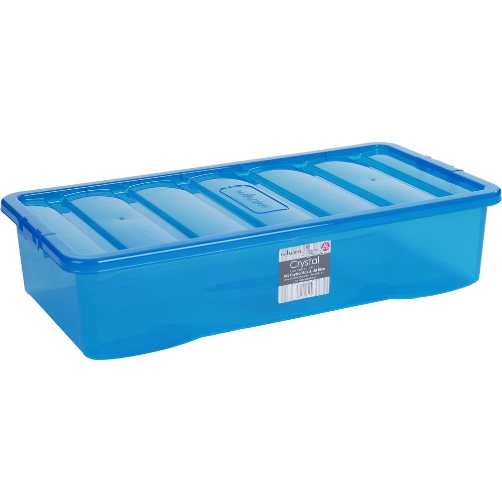 74b940ad1 Skladovací box Wham 42l (modrá) | NovýNábytok.sk