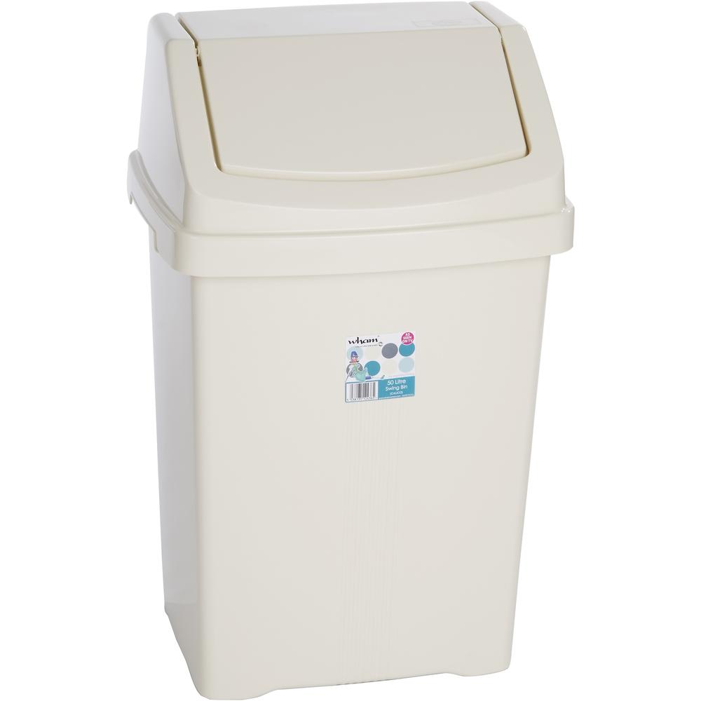 Odpadkový kôš - Fastplus - Wham 50l (béžová). Vlastná spoľahlivá doprava až k Vám domov.