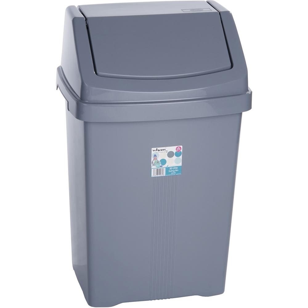 Odpadkový kôš - Fastplus - Wham 50l (strieborná). Vlastná spoľahlivá doprava až k Vám domov.